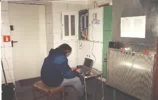 Kotłownia gazowa w bloku